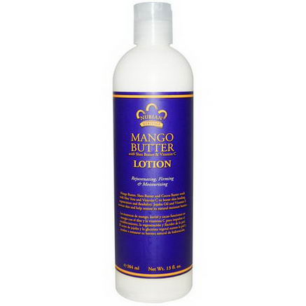Nubian Heritage, Mango Butter Lotion, With Shea Butter & Vitamin C, 13 fl oz (384 ml)