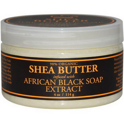 Nubian Heritage, Shea Butter, Infused with African Black Soap Extract, 4oz (114g)