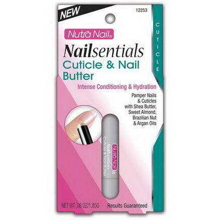 Nutra Nail, Nailsentials, Cuticle & Nail Butter, 06oz (1.85g)