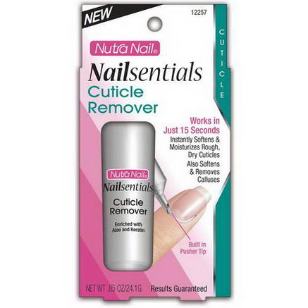 Nutra Nail, Nailsentials, Cuticle Remover, 85oz (24.1g)