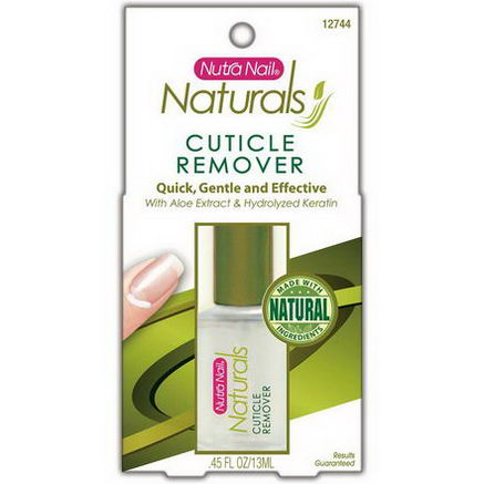 Nutra Nail, Naturals, Cuticle Remover, 45 fl oz (13 ml)