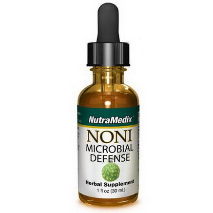 NutraMedix, Noni, Microbial Defense, 1 fl oz (30 ml)