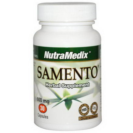 NutraMedix, Samento, Herbal Supplement, 600mg, 30 Capsules