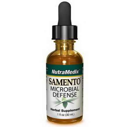 NutraMedix, Samento, Microbial Defense, 1 fl oz (30 ml)