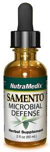 NutraMedix, Samento, Microbial Defense, 2 fl oz (60 ml)
