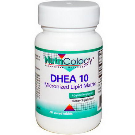 Nutricology, DHEA 10, 60 Scored Tablets