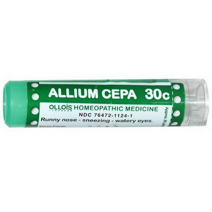 Ollois, Allium Cepa 30c, Approx. 80 Pellets