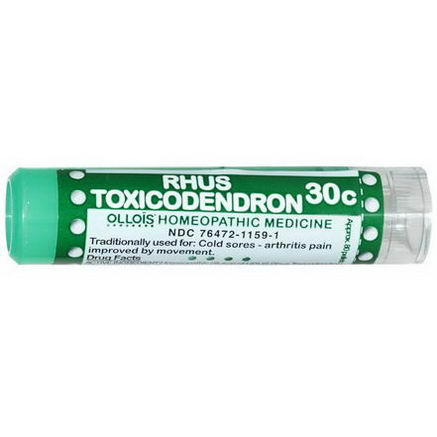 Ollois, Rhus Toxicodendron 30c, Approx. 80 Pellets