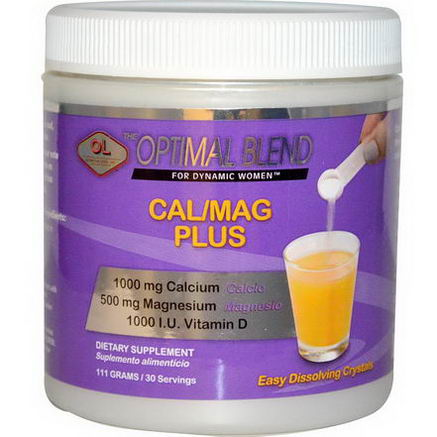 Olympian Labs Inc. Cal/Mag Plus for Women, Unflavored, 111g