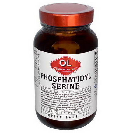 Olympian Labs Inc. Phosphatidylserine, 60 Softgels