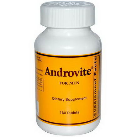 Optimox Corporation, Androvite for Men, 180 Tablets