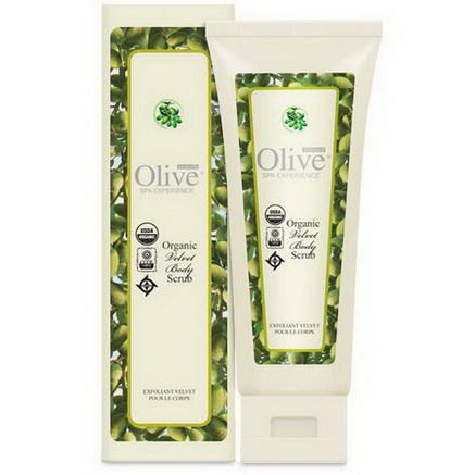 Organic Olive Essence, Organic Velvet Body Scrub, 8 fl oz (240 ml)