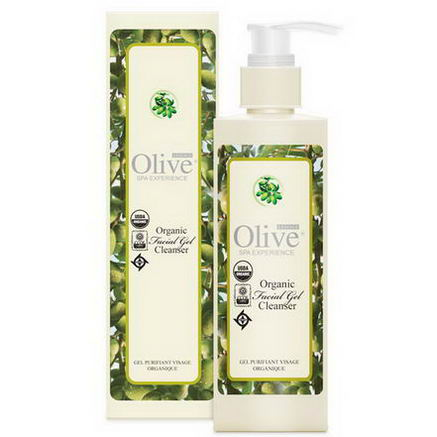 Organic Olive Essence, Spa Experience, Facial Gel Cleanser, 8 fl oz (240 ml)