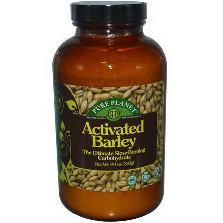 Pure Planet, Activated Barley, 9.9oz (280g)