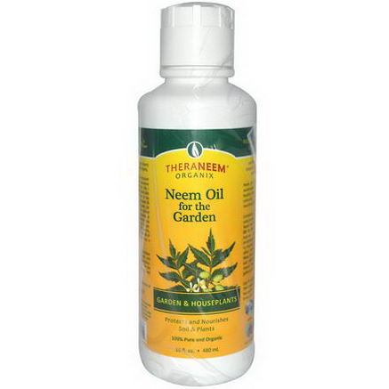 Organix South, TheraNeem Organix, Neem Oil for the Garden, 16 fl oz (480 ml)