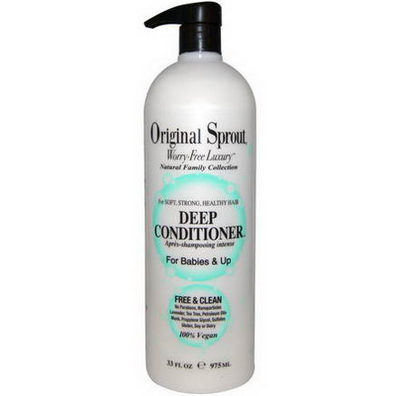Original Sprouts Inc, Deep Conditioner, For Babies and Up, 33 fl oz (975 ml)