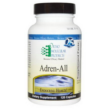 Ortho Molecular Products, Adren-All, 120 Capsules