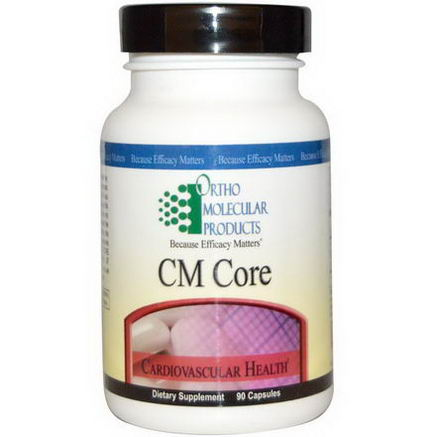 Ortho Molecular Products, CM Core, 90 Capsules