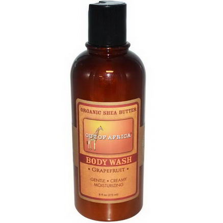 Out of Africa, Body Wash, Grapefruit, 9 fl oz (270 ml)