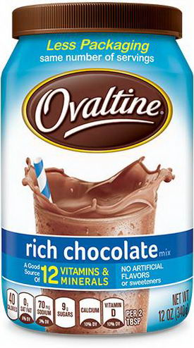 Ovaltine, Rich Chocolate Mix, 12oz (340g)