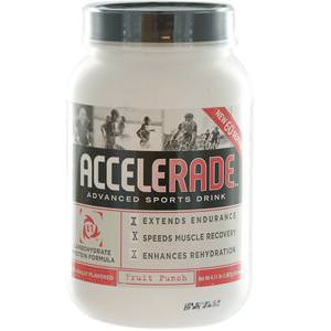 Pacific Health Inc. Accelerade, Advanced Sports Drink, Fruit Punch, 4.11 lbs (1, 867g)