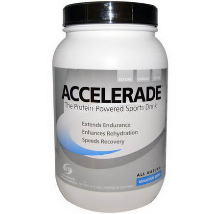 Pacific Health Inc. Accelerade, Sports Drink, Mountain Berry, 4.11 lbs (1, 867g)