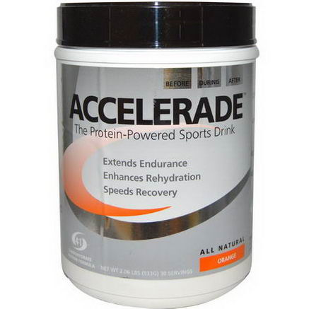 Pacific Health Inc. Accelerade, Sports Drink, Orange, 2.06 (933g)