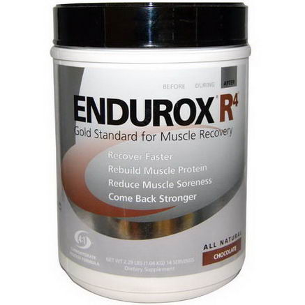 Pacific Health Inc. Endurox R4, Muscle Recovery Drink, Chocolate, 2.29 lbs (1.04 kg)