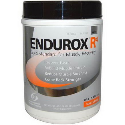Pacific Health Inc. Endurox R4 Muscle Recovery Drink, Tangy Orange, 2.29 lb (1.04 kg)
