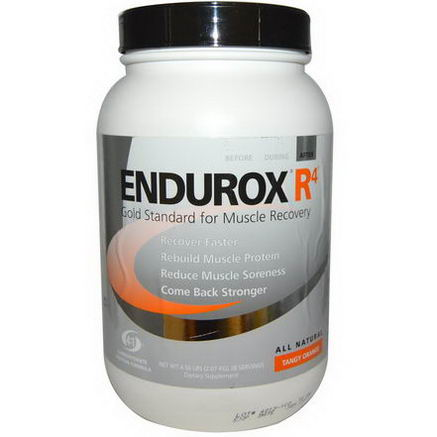 Pacific Health Inc. Endurox R4 Muscle Recovery Drink, Tangy Orange, 4.56 lbs (2.07 kg)