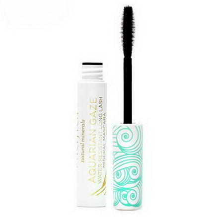 Pacifica Perfumes Inc, Aquarian Gaze, Water-Resistant Mascara, Abyss, 0.25oz (7.1g)