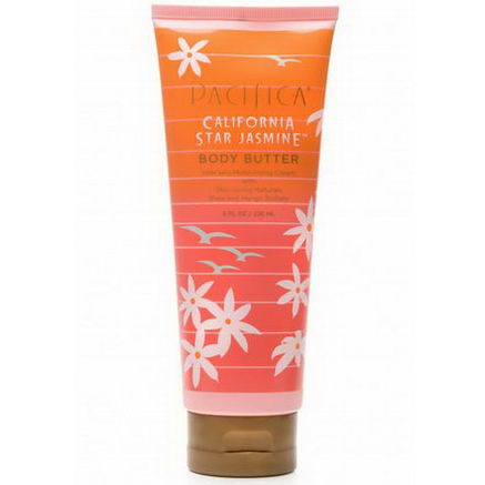 Pacifica Perfumes Inc, Body Butter, California Star Jasmine, 8 fl oz (236 ml)