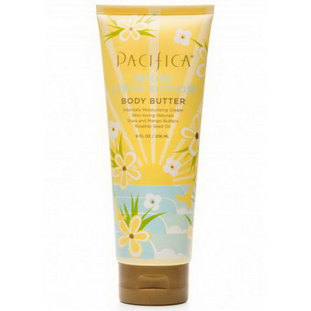 Pacifica Perfumes Inc, Body Butter, Malibu Lemon Blossom, 8 fl oz (236 ml)
