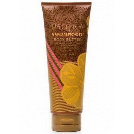 Pacifica Perfumes Inc, Body Butter, Sandalwood, 8 fl oz (236 ml)