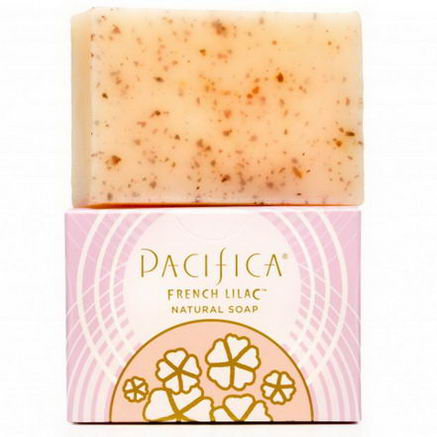 Pacifica Perfumes Inc, Natural Soap, French Lilac, 6oz (170g)