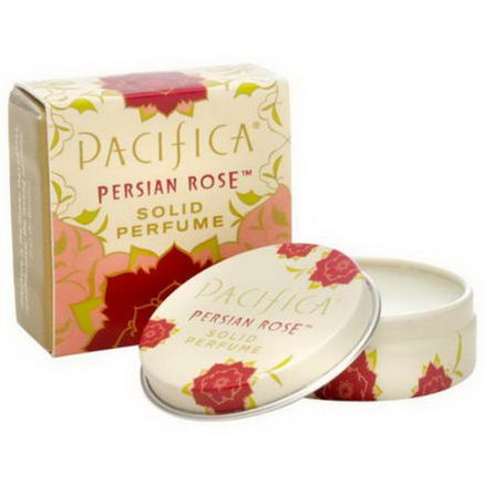 Pacifica Perfumes Inc, Solid Perfume, Persian Rose, 33oz (10g)