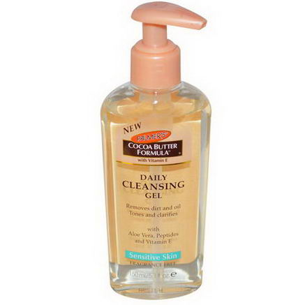Palmer's, Cocoa Butter Formula, Daily Cleansing Gel, Fragrance-Free, 5.1 fl oz (150 ml)