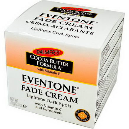 Palmer's, Cocoa Butter Formula, Eventone, Fade Cream, Fresh White Lily Fragrance, 2.7oz (75g)