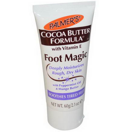 Palmer's, Cocoa Butter Formula, Foot Magic with Peppermint Oil & Mango Butter, 2.1oz (60g)