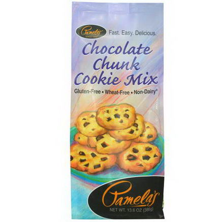 Pamela's Products, Chocolate Chunk Cookie Mix, 13.6oz (386g)