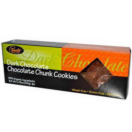Pamela's Products, Dark Chocolate Chocolate Chunk Cookies, 5.29oz (150g)