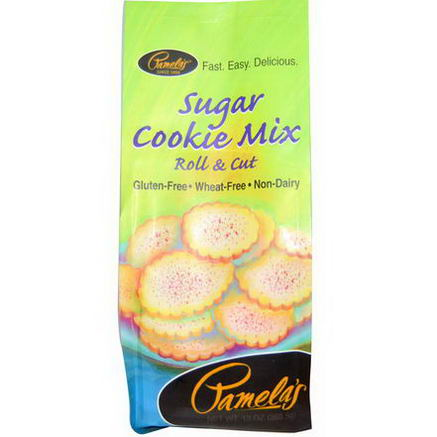 Pamela's Products, Sugar Cookie Mix, 13oz (368.5g)