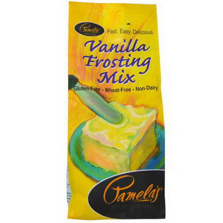 Pamela's Products, Vanilla Frosting Mix, 12oz (340g)