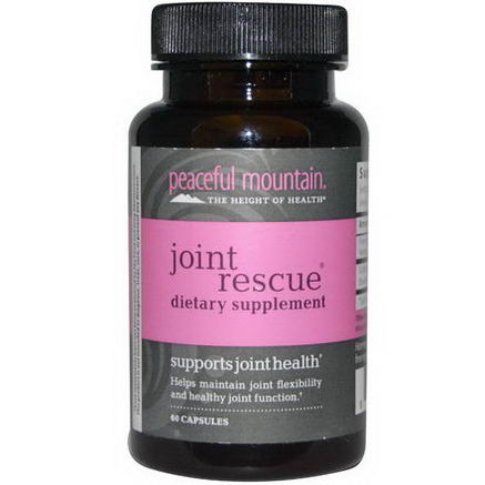 Peaceful Mountain, Joint Rescue, 60 Capsules
