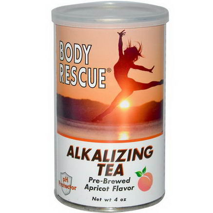 Peelu, Body Rescue, Alkalizing Tea, Apricot, 4oz