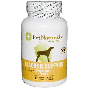 Pet Naturals of Vermont, Bladder Support for Dogs, 90 Smoke Flavored Chewable Tablets