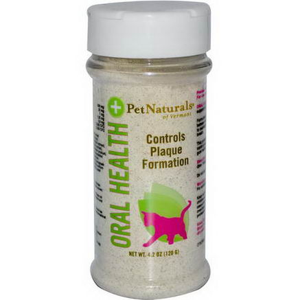 Pet Naturals of Vermont, Oral Health, For Cats, 4.2oz (120g)