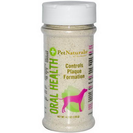 Pet Naturals of Vermont, Oral Health +, For Dogs, 4.2oz (120g)