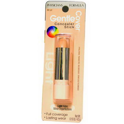 Physician's Formula, Inc. Gentle Cover Concealer Stick, Light, 0.15oz (4.2g)