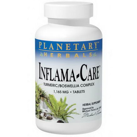 Planetary Herbals, Inflama-Care, 1, 165mg, 60 Tablets
